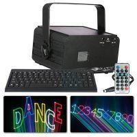 Showtec Galactic TXT tekstlaser met toetsenbord