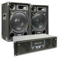 MAX 'Dark Night 12' geluidsinstallatie - 1400W max.