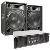 MAX 'Dark Night 15' geluidsinstallatie - 2000W max.