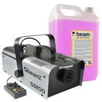 BeamZ S1200 MKII Rookmachine met rookvloeistof