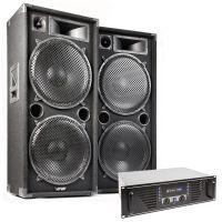 MAX 'Dark Night 215' geluidsinstallatie - 4000W max.