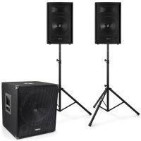 Vonyx 2.1 complete live set 1100 watt