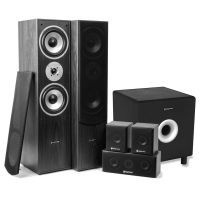 "SkyTronic 5.1 home cinema surround speakerset 1300W met 10"" subwoofer"