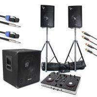 SkyTec 2.1 complete live set 1100 watt met Resident DJ Midi controller