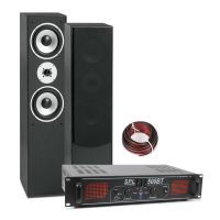 SkyTronic 500W HiFi geluidsset met Bluetooth versterker en HiFi speakers