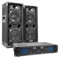 MAX Complete 700W Speakerset MAX26 met Versterker
