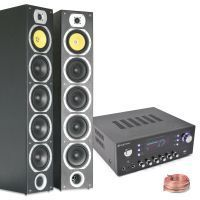 SkyTronic HiFi Stereo installatie met Speakers en Versterker