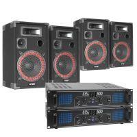 SkyTec XEN 1000W Dubbele geluidsinstallatie