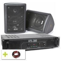 SkyTec geluidsinstallatie 150W keuken, hobbykamer etc.