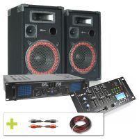 SkyTec Complete 700W DJ Installatie met Bluetooth en USB