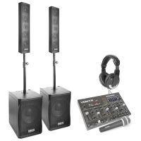 Vonyx 1500W Complete 2.2 Geluidsinstallatie met Bluetooth Mixer