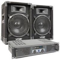 MAX 'Dark Night 8' geluidsinstallatie - 800W max.