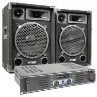 MAX 'Dark Night 10' geluidsinstallatie - 1000W max.