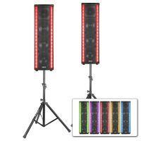 Vonyx LM80 LightMotion bluetooth DJ Speakerset met LED lichteffect