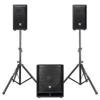 Power Dynamics COMBO1200 incl. standaards en luidsprekerkabels