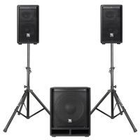Power Dynamics COMBO1500 incl. standaards en luidsprekerkabels