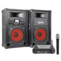 Fenton 800W geluidsbox SPA-1000 met draadloze microfoon