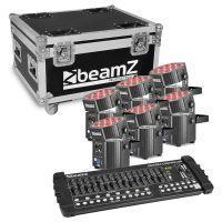 BeamZ BBP60 Uplight set met draadloze DMX en DMX controller