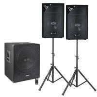 Vonyx actieve 2.1 Bluetooth / DJ geluidsinstallatie - 1600W
