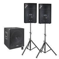 Vonyx actieve 2.1 Bluetooth / DJ geluidsinstallatie - 1100W