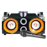 Fenton MDJ100 Karaoke Boombox op accu met echo en Bluetooth
