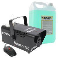 BeamZ S700 rookmachine incl. 5,5 liter rookvloeistof