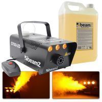BeamZ S700 vlameffect rookmachine incl. ruim 5 liter rookvloeistof