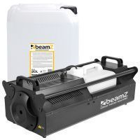 BeamZ S3500 rookmachine incl. 20 liter Ultra geconcentreerde rookvloeistof