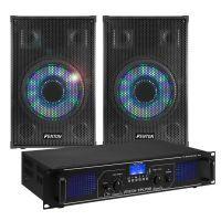 Fenton Bluetooth geluidsinstallatie 700W met LED speakers