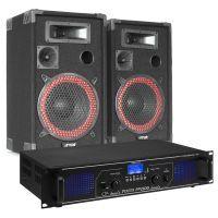 Fenton FPL500 Bluetooth en mp3 geluidsinstallatie klasse-D 500W