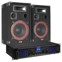 Fenton FPL700 Bluetooth en mp3 geluidsinstallatie klasse-D 700W