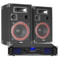 Fenton FPL1000 Bluetooth en mp3 geluidsinstallatie klasse-D 1000W