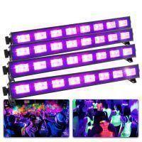 BeamZ Complete Blacklight set met 4 krachtige BUV93 LED BARs