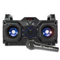 Fenton MDJ95 Karaoke Boombox op accu met echo en Bluetooth