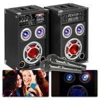 Fenton KA-06 Karaoke Set met microfoon, echo en Bluetooth