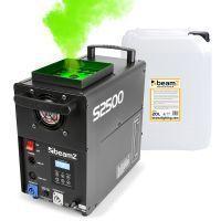 BeamZ S2500 verticale rookmachine met 20 liter rookvloeistof