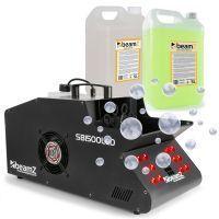 BeamZ SB1500LED rook- en bellenblaasmachine incl. vloeistoffen