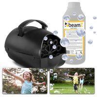 BeamZ B100 bellenblaasmachine met 1 liter bellenblaasvloeistof