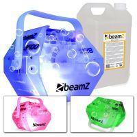 BeamZ B500LED bellenblaasmachine incl. 5 liter vloeistof