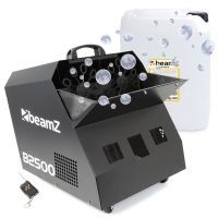 BeamZ B2500 bellenblaasmachine met 20 liter bellenblaasvloeistof