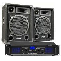 MAX10 DJ luidspreker en Bluetooth versterker combinatie 1000W