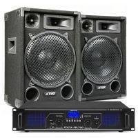 MAX12 DJ luidspreker en Bluetooth versterker combinatie 1400W