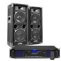 MAX26 DJ luidspreker en Bluetooth versterker combinatie 1200W