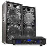 MAX215 DJ luidspreker en Bluetooth versterker combinatie 4000W