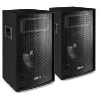"""Vonyx SL10 luidsprekerset - Twee 10"""" speakers van 500W (totaal 1000W max.)"""