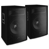 """Vonyx SL15 luidsprekerset - Twee 15"""" speakers van 800W (totaal 1600W max.)"""