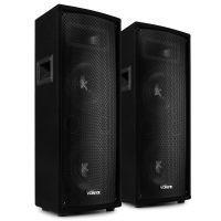 """Vonyx SL28 luidsprekerset - Twee speakers met 2x 8"""" woofers - Setvermogen 1600W max."""