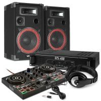 Hercules DJControl Inpulse 200 starterkit voor DJ's - 500W