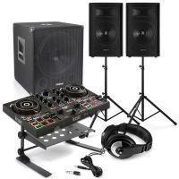 Hercules DJControl Inpulse 200 DJ set met 2.1 geluidsinstallatie 1100W