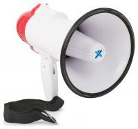 2e keus - Vonyx Megafoon met Sirene en Record functie 20W MEG020